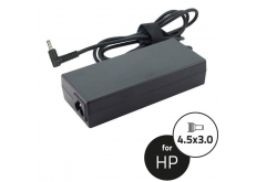 HP 19,5V 3,33A (65W) kék center pin laptop adapter